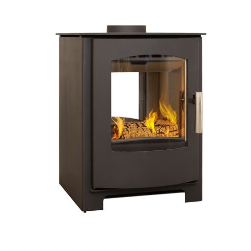 mendip churchill double sided stove