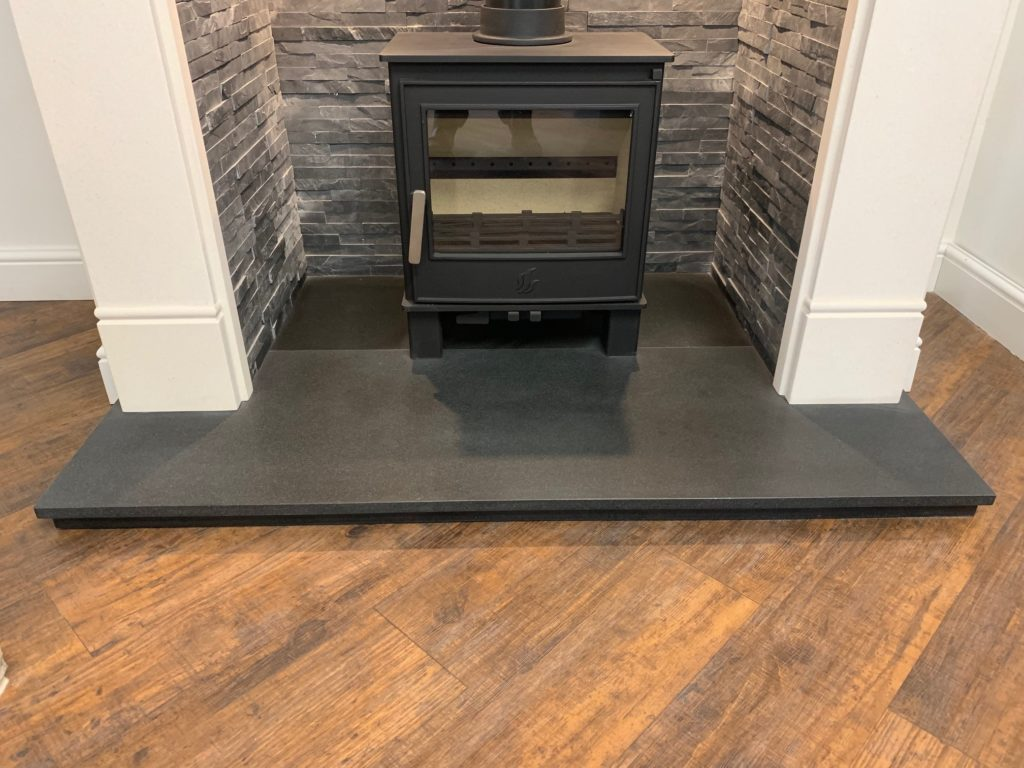 Honed Granite Hearths Yorkshire Stoves Amp Fireplaces