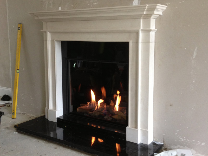 bell gas fire and chesneys fireplace
