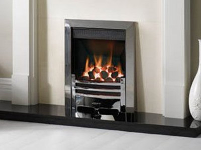 gas fire installation