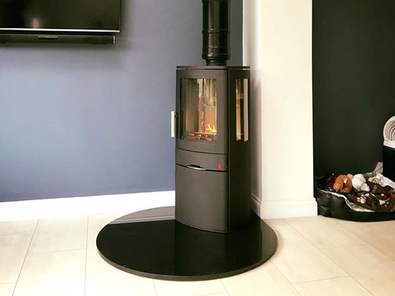 tall modern stove