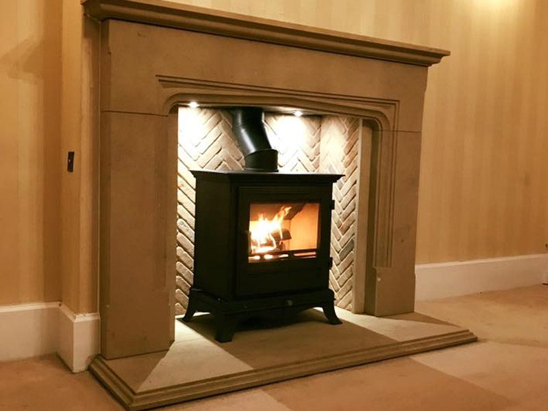 chesneys beaumont 8 in limestone fire surround