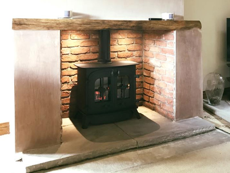 yeoman dartmoor double door stove